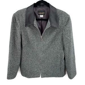 REQUIREMENTS Wool Blend Career Jacket